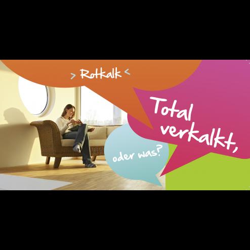 MEGA Postkarte Rotkalk