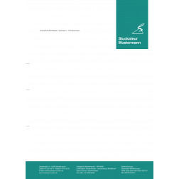 Briefbogen01 - 1stg - 4/0fbg -Kelle