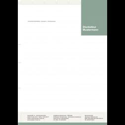 Briefbogen02 - 1stg - 4/0fbg -Wandverkleidung