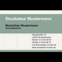 Visitenkarte Wandverkleidung 1stg. quer